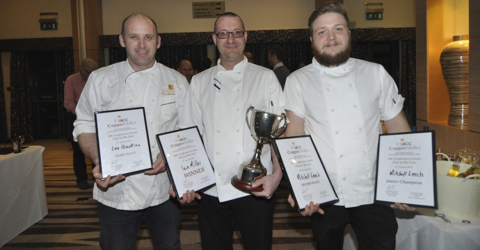News: Clean Sweep for Sundial Chefs at UK Copper Skillet