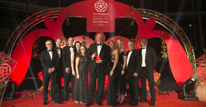 Matfen Hall Hotel Gold at VisitEngland Awards for Excellence