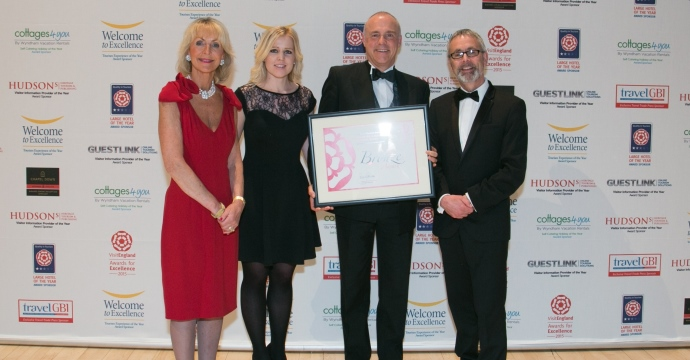 Barnett Hill Bronze at VisitEngland Excellence Awards