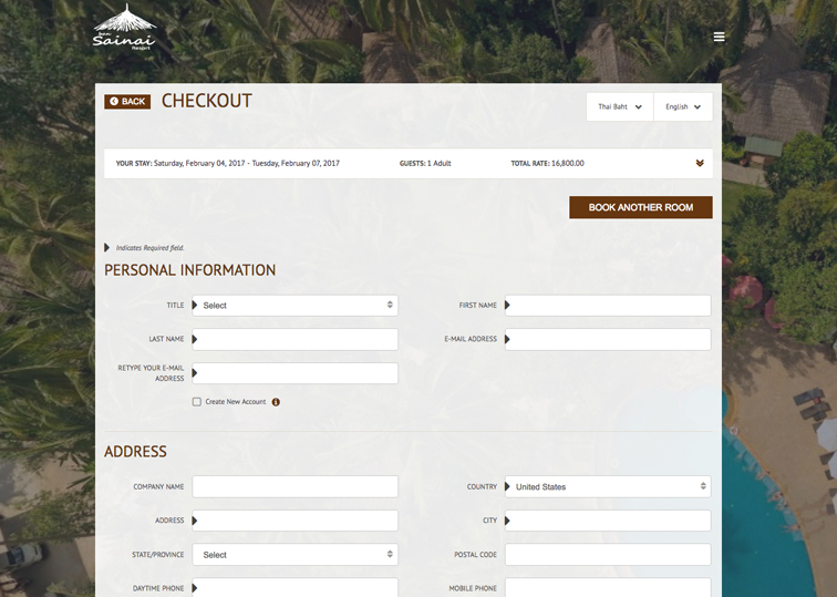Conversion Tested - Hotel Booking Engine