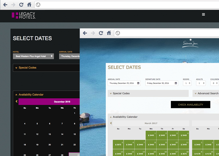 Fully Customisable - Hotel Booking Engine