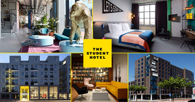 The Student Hotel adds five new properties to HotelREZ