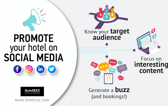 Three Ways to Promote Your Hotel on Social Media