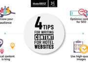 4 tips for writing content for hotel websites