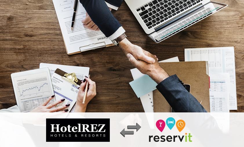 Reservit Partnership with HotelREZ