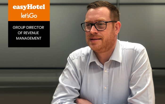 Interview with Nick Moffatt, Group Director of Revenue Management at easyHotel