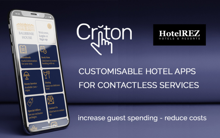 Criton, HotelREZ & Best Loved Hotels enter into partnership as demand for mobile technology soars